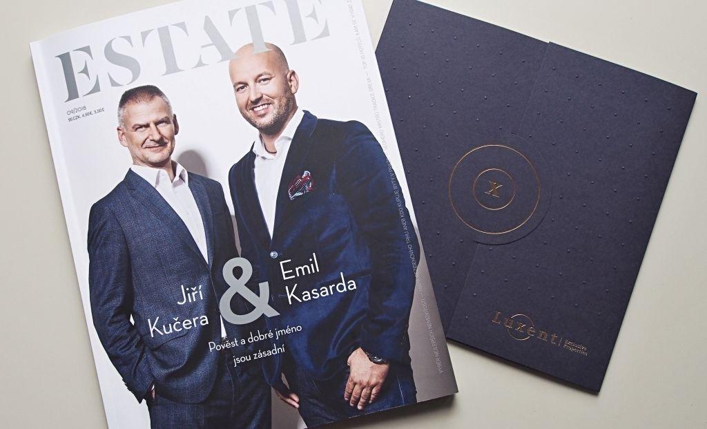 Exclusive interview for ESTATE real estate magazine